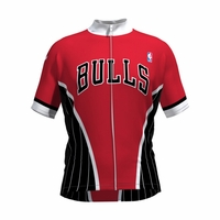 NBA Women's Chicago Bulls Wind Star Cycling Jersey