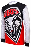 New Mexico Lobos Long Sleeved Bike Jersey