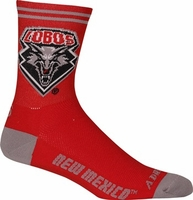 New Mexico Lobos Socks