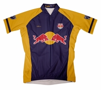 New York Red Bulls Secondary Short Sleeve Cycling Jersey