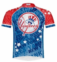 New York Yankees Vintage Men's Cycling Jersey