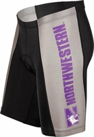Northwestern Wildcats Cycling Shorts
