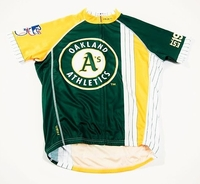 Oakland A's Men's Cycling Jersey