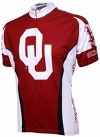 Oklahoma Sooners Cycling Jersey Free Shipping
