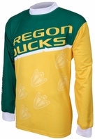 Oregon Ducks Long Sleeved Bike Jersey