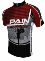 Pain is Weakness Leaving the Body Men's Cycling Jersey