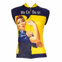 Rosie The Riveter Women's Sleeveless Cycling Jersey