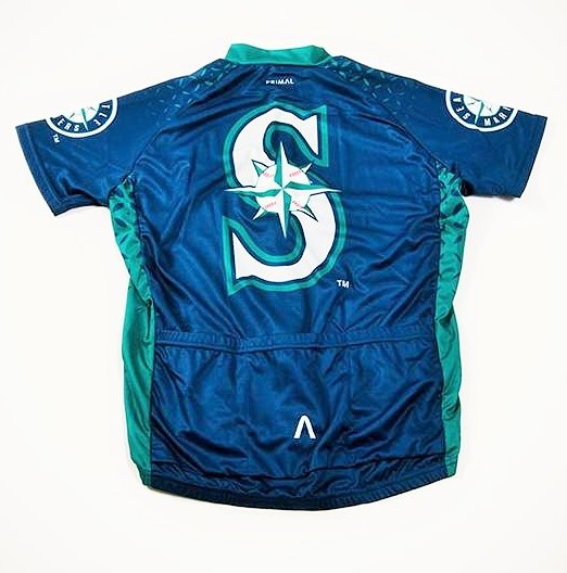 best service 7c796 8f662 Seattle Mariners Men's Cycling Jersey