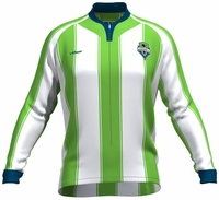 Seattle Sounders FC Long Sleeve Cycling Jersey