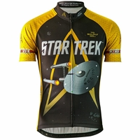 "Star Trek ""Command"" Men's Gold Cycling Jersey"
