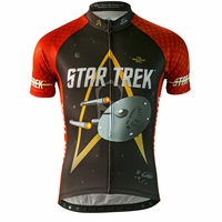 "Star Trek ""Engineering"" Men's Red Cycling Jersey"