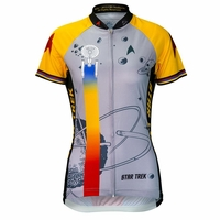 "Star Trek ""Final Frontier"" Women's Gold Cycling Jersey"