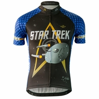 "Star Trek ""Science"" Men's Blue Cycling Jersey"
