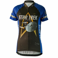 "Star Trek ""Science"" Women's Blue Cycling Jersey"