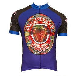Strawberry Cough Men's Cycling Jersey