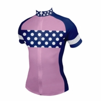 Strong Women Dots Cycling Jersey