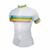 Strong Women Stripes Cycling Jersey