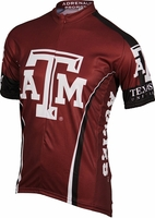 Texas A & M Aggies Cycling Jersey Free Shipping
