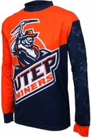 [DISCONTINUED] Texas El Paso UTEP Miners Long Sleeved Bike Jersey
