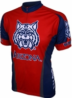 University of Arizona Wildcats Cycling Jersey Free Shipping