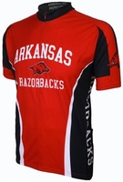 University of Arkansas Razorbacks Cycling Jersey Free Shipping