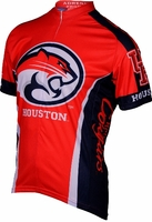 University of Houston Cougars Cycling Jersey Free Shipping