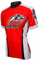 University of New Mexico Lobos Cycling Jersey Free Shipping