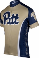 University of Pittsburgh Panthers Cycling Jersey Free Shipping