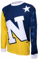 US Naval Academy Long Sleeved Bike Jersey