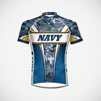US Navy Camo Men's Cycling Jersey