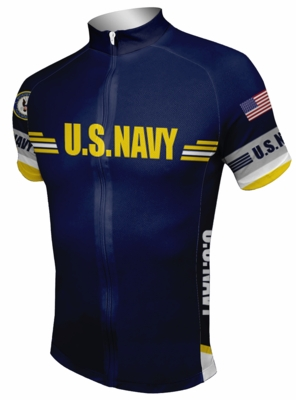 10285d022e6 US Navy Cycling Jersey .