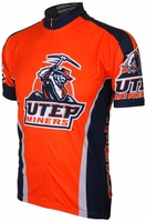 UTEP Miners Cycling Jersey Free Shipping