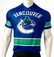 Vancouver Canucks Cycling Jersey Free Shipping