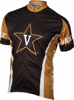 [DISCONTINUED] Vanderbilt Commodores Cycling Jersey Free Shipping