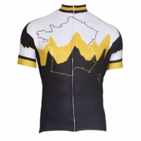 Vive Le Velo Men's Short Sleeve Cycling Jersey