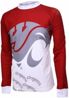 Washington State Cougars Long Sleeved Bike Jersey