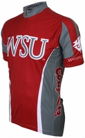 Washington State University Cougars Cycling Jersey Free Shipping