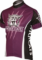 [DISCONTINUED] Weber State Wildcats Cycling Jersey