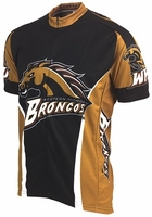 [DISCONTINUED] Western Michigan Broncos Cycling Jersey Free Shipping