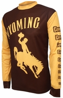 Wyoming Cowboys MTB Bike Long Sleeve Jersey