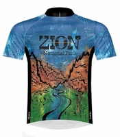 Zion National Park Cycling Jersey