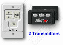 Allstar Wall Console w/ 2 Classic Transmitters