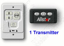 Allstar Wall Console with Classic Transmitter