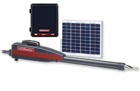 LiftMaster LA4121PKGDC Residential DC Linear Single Arm Package with 10W Solar Panel and Standard LA412CONTDC Control Box