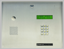 Linear AE-2 Vacuum Fluorescent Display Telephone Entry System - Model AE-2