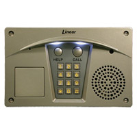 Linear RE-2N Residential Telephone Entry System (Nickel Finish) - Model RE-2N
