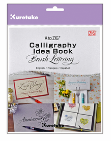 A to ZIG : Calligraphy Idea Book- Brush Lettering