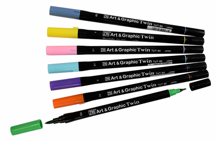 Zig Art & Graphic Twin Markers