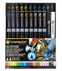 Chameleon Color Tone Pens- Deluxe Set of 22