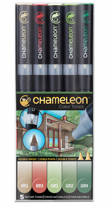 Chameleon Color Tone Pens- Nature Set of 5